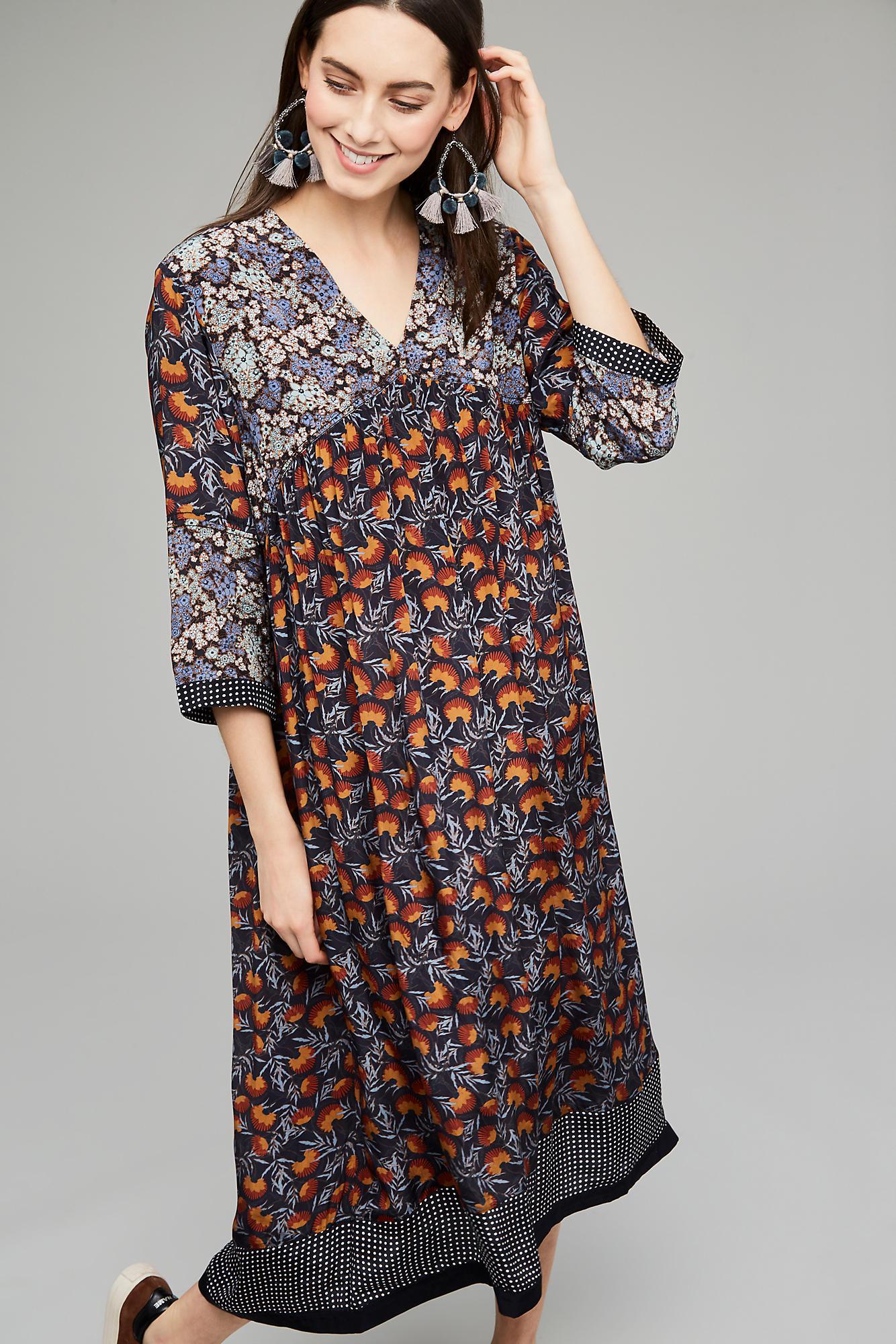 a3a7ca0f79e1 Anthropologie Janita Floral Peasant Dress - Lyst