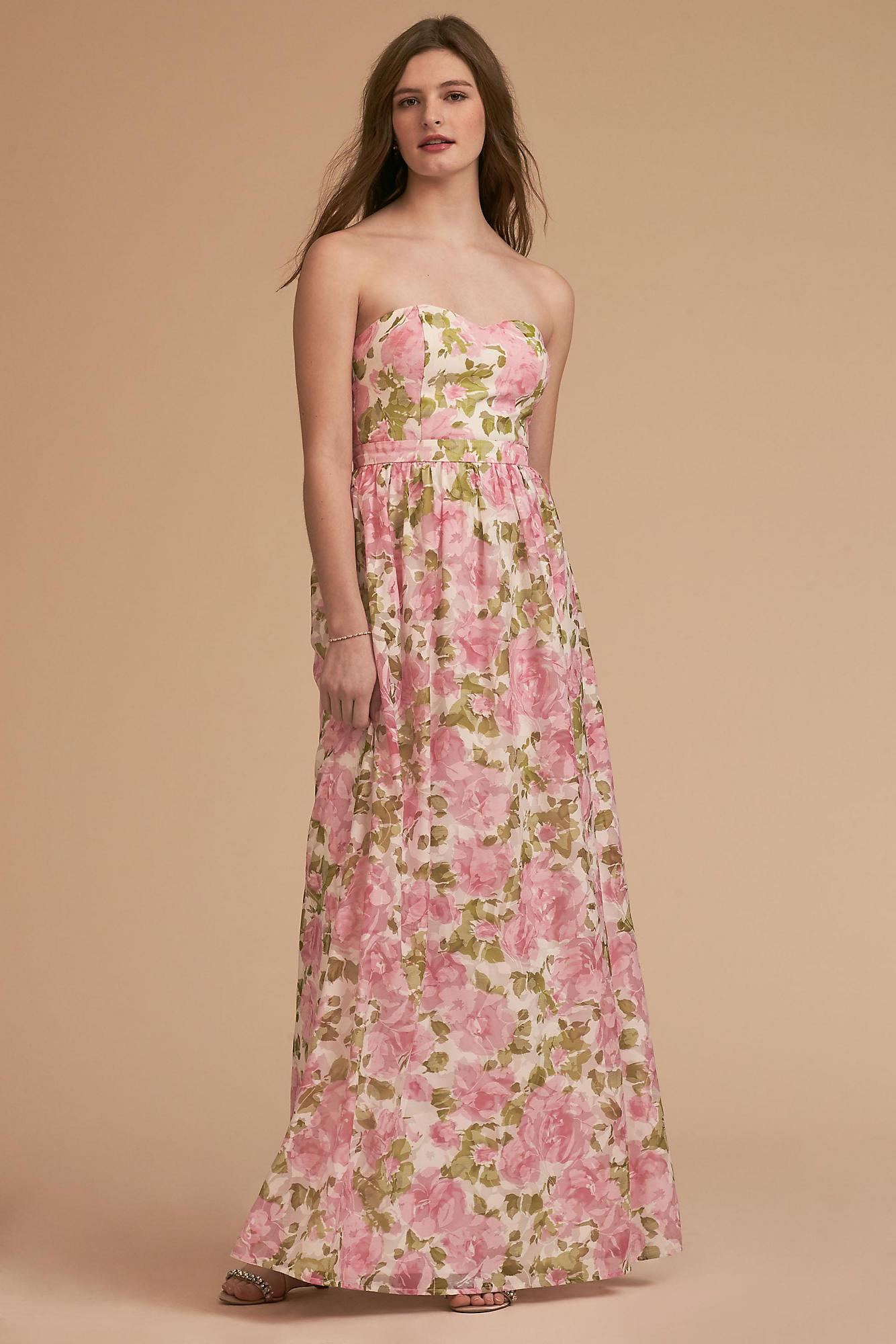 c35fa6f576d43 Lyst - Anthropologie Jessa Dress in Pink