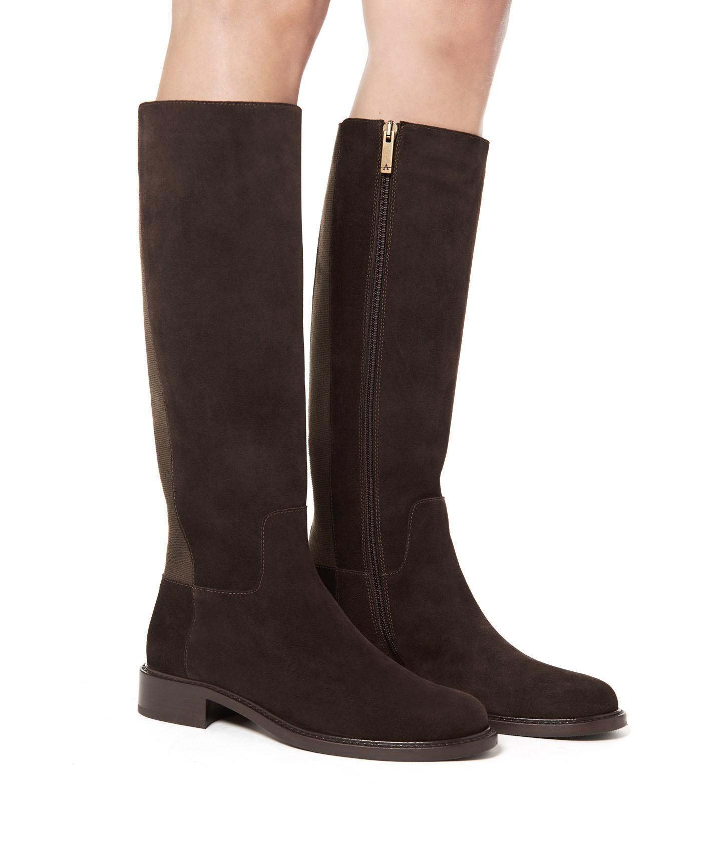 Aquatalia Women's Bryana Weatherproof Leather Tall Boots lLkQxL