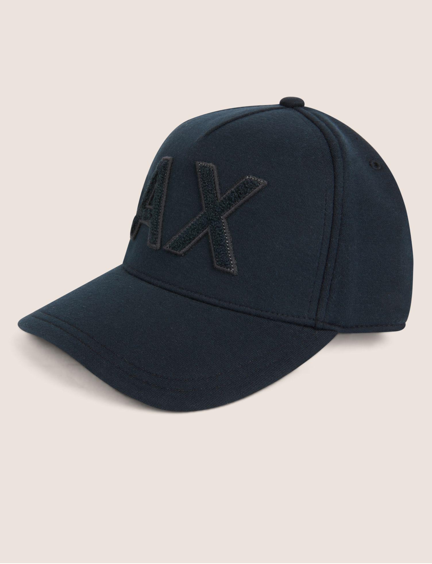 04ca5a827f1 Lyst - Armani Exchange High-pile Logo Hat in Blue for Men
