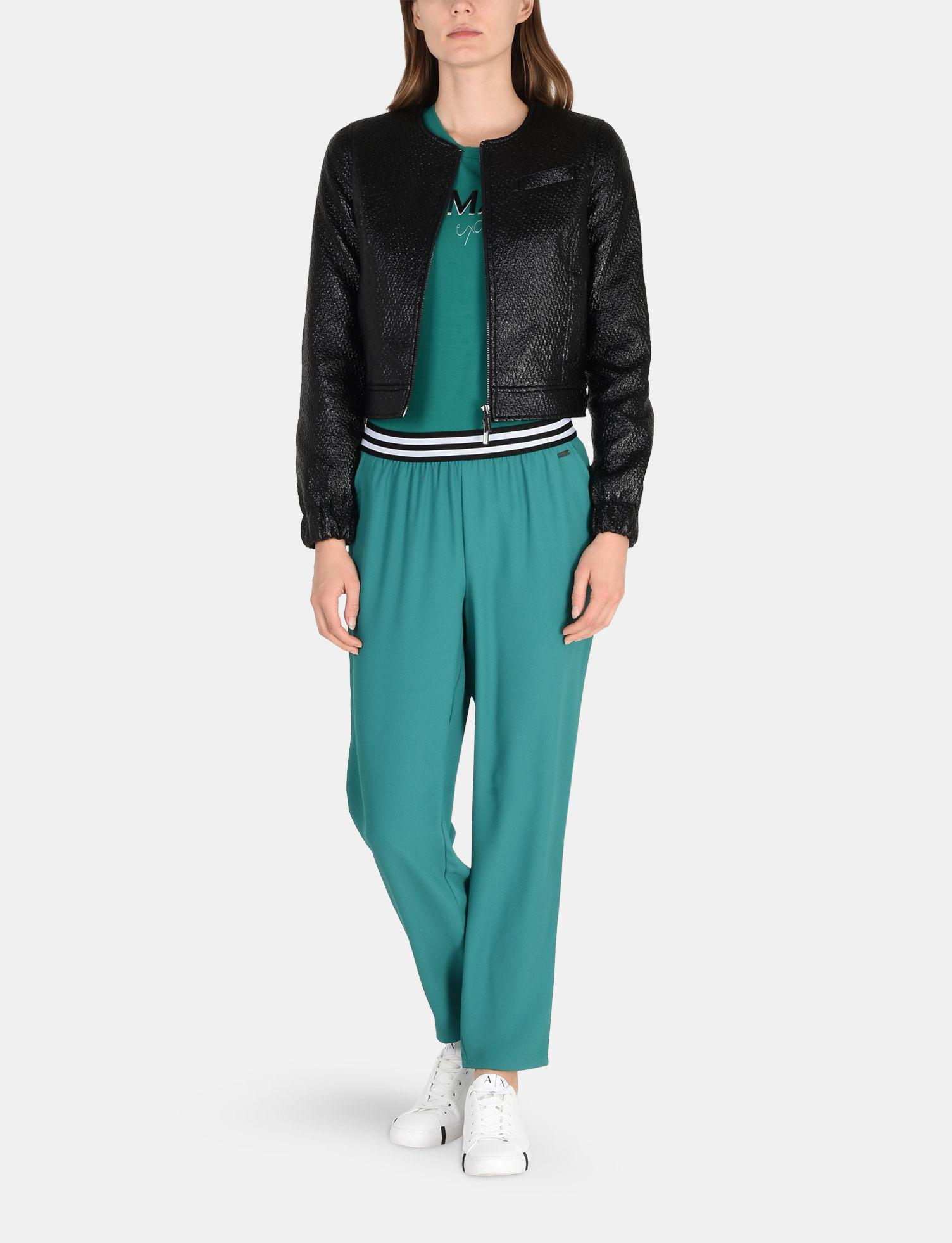 852c693989bd Lyst - Armani Exchange Striped Waist Pull-on Pant in Green