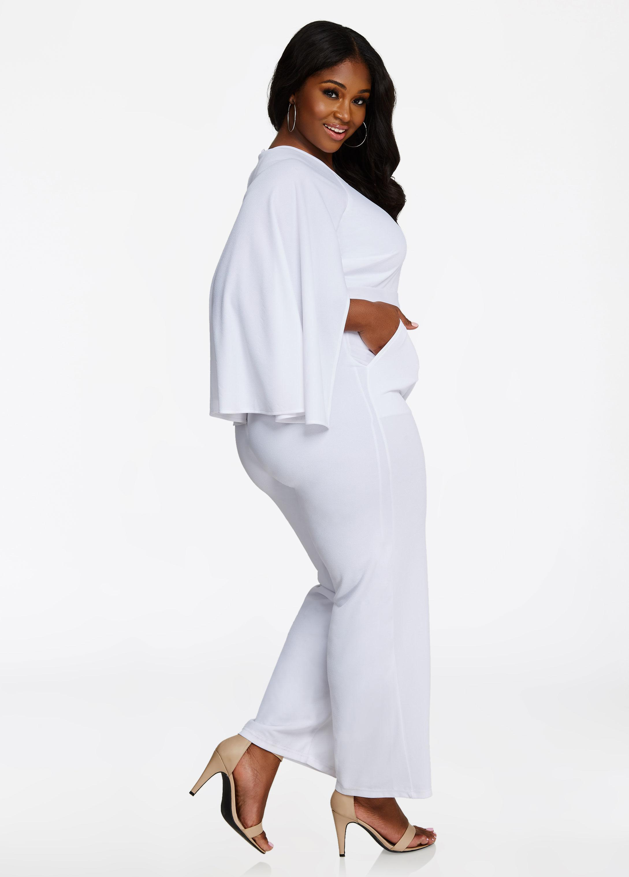 a5778f066e70 Gallery. Previously sold at  Ashley Stewart · Women s Striped Jumpsuits ...