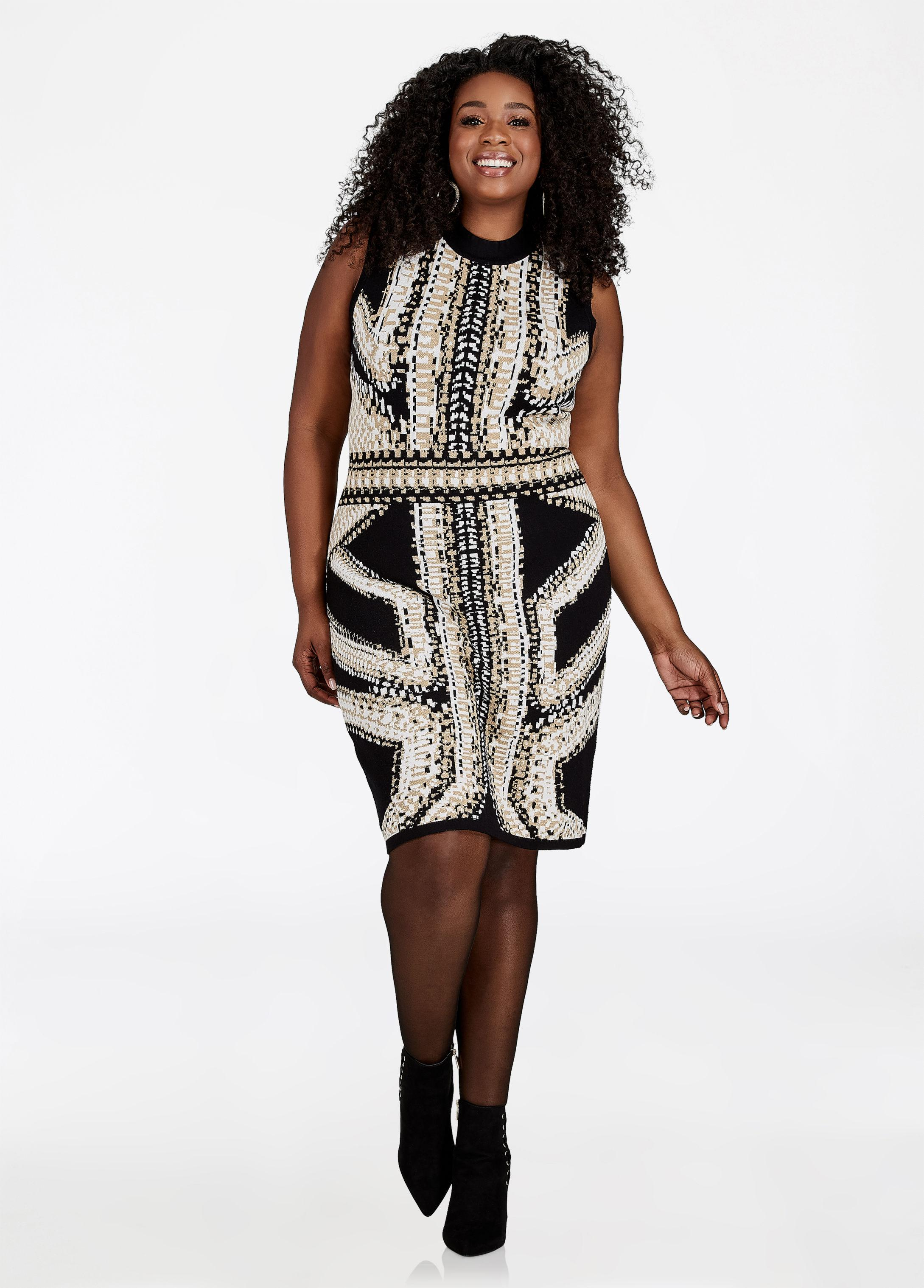 f59d8bfff2 Gallery. Previously sold at  Ashley Stewart · Women s White Shirt Dresses  ...