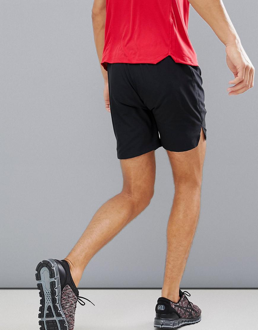 7 For Lyst Asics Running Inch Shorts Men In Black wNOPZ8k0Xn