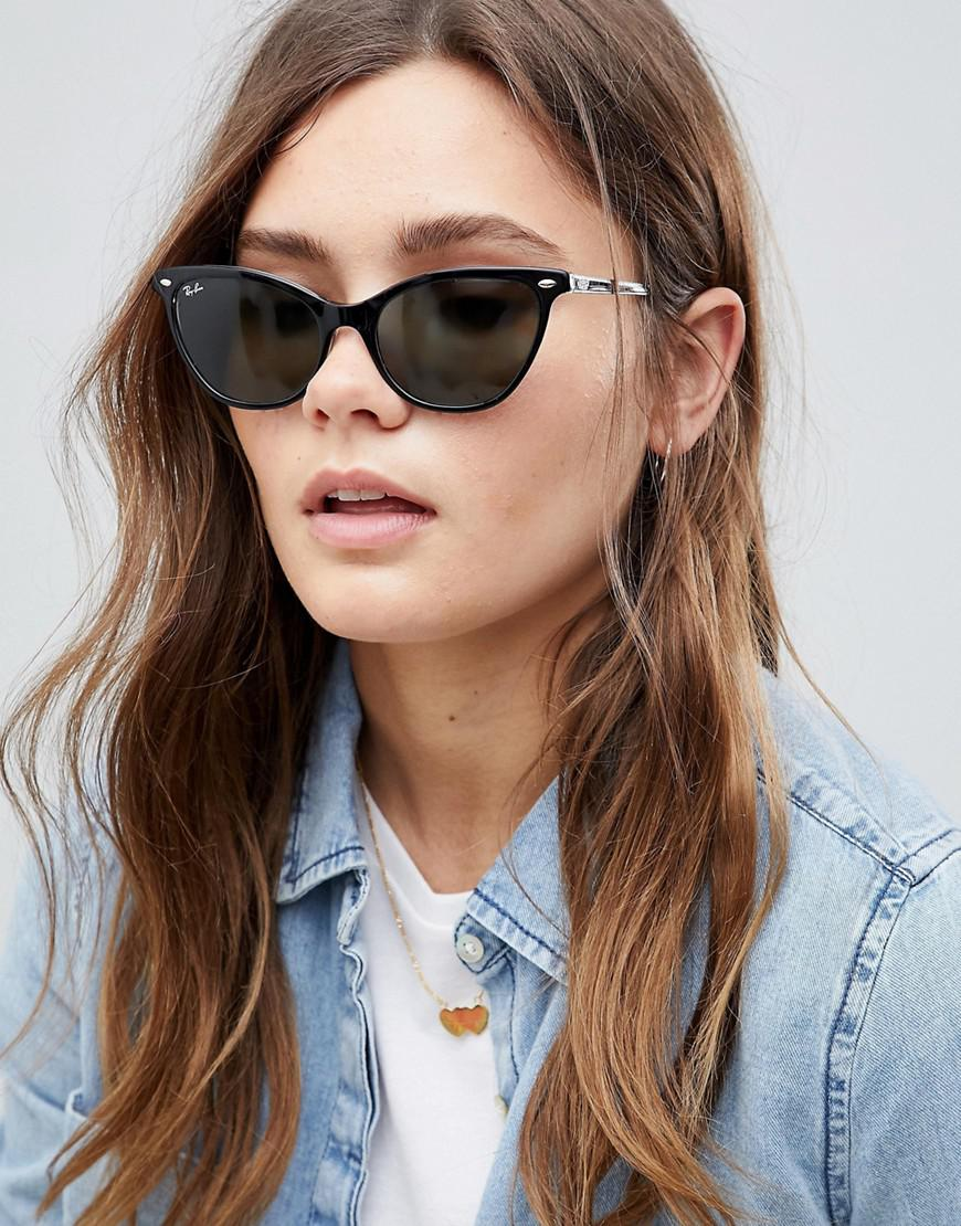 Gallery. Previously sold at  ASOS · Women s Cat Eye Sunglasses ... 4d301cbdd7db