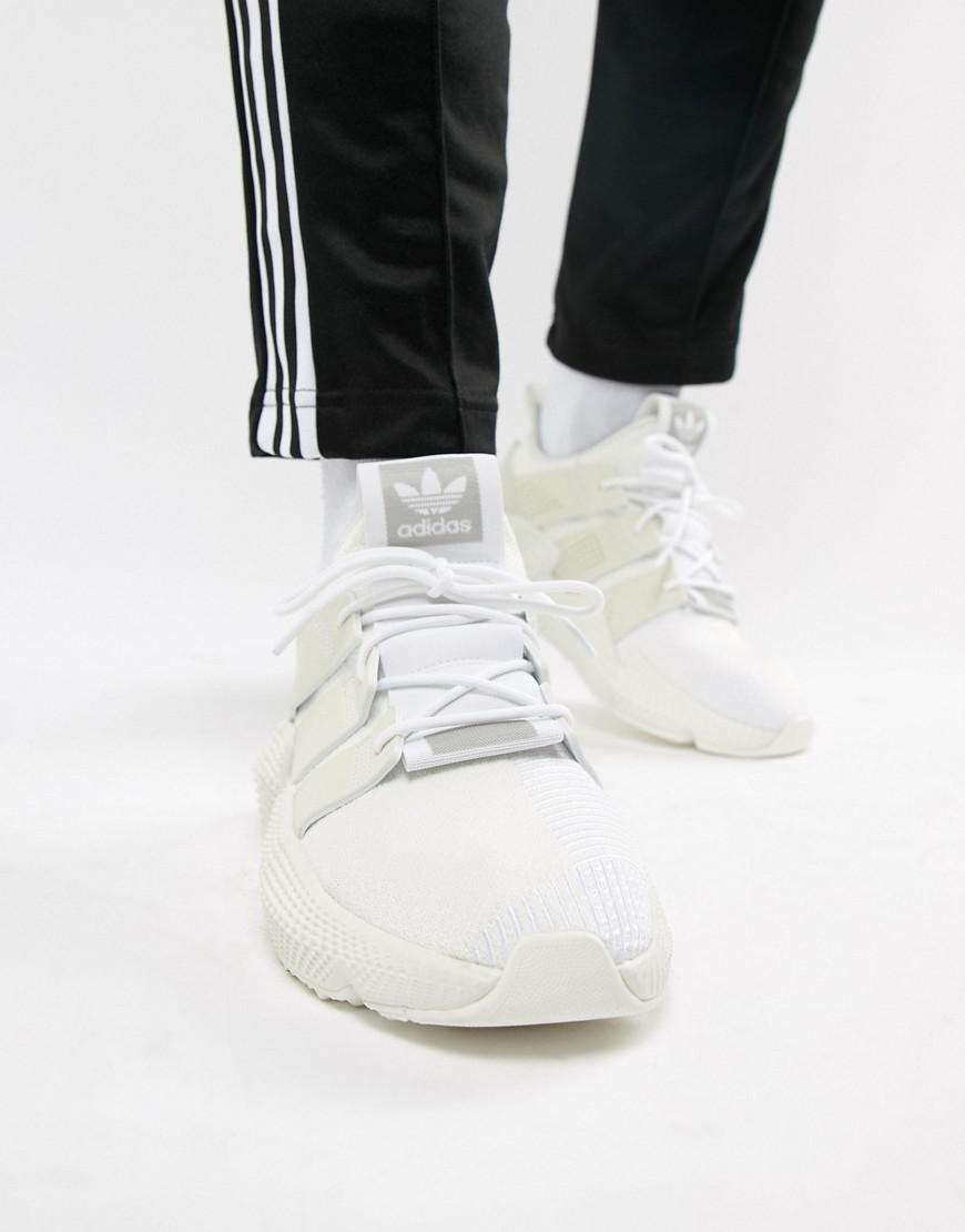 adidas Originals Prophere Sneakers In White B37454 in White for Men ... f452c579a