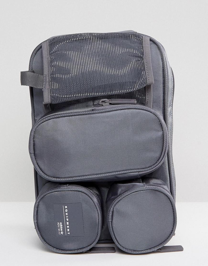 e9f2b2610 Adidas Originals Eqt Travel Bag Black