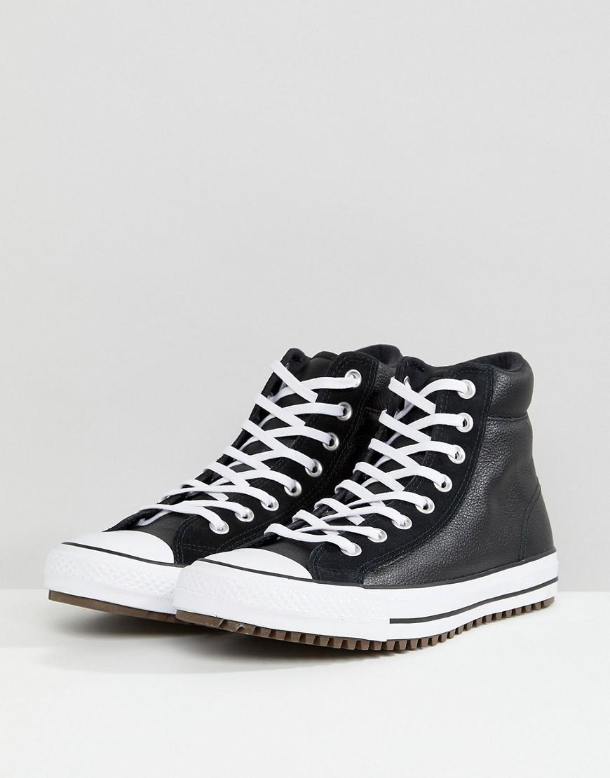 d225a7b7c2b2 Lyst - Converse Chuck Taylor All Star Street Sneaker Boots In Black  157496c001 in Black for Men