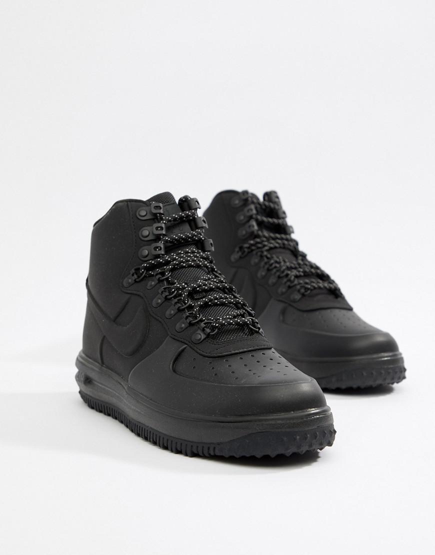 59eb2c84da8c5 Nike Lunar Force 1 Duckboot Trainers In Black Bq7930-003 in Black for Men -  Lyst