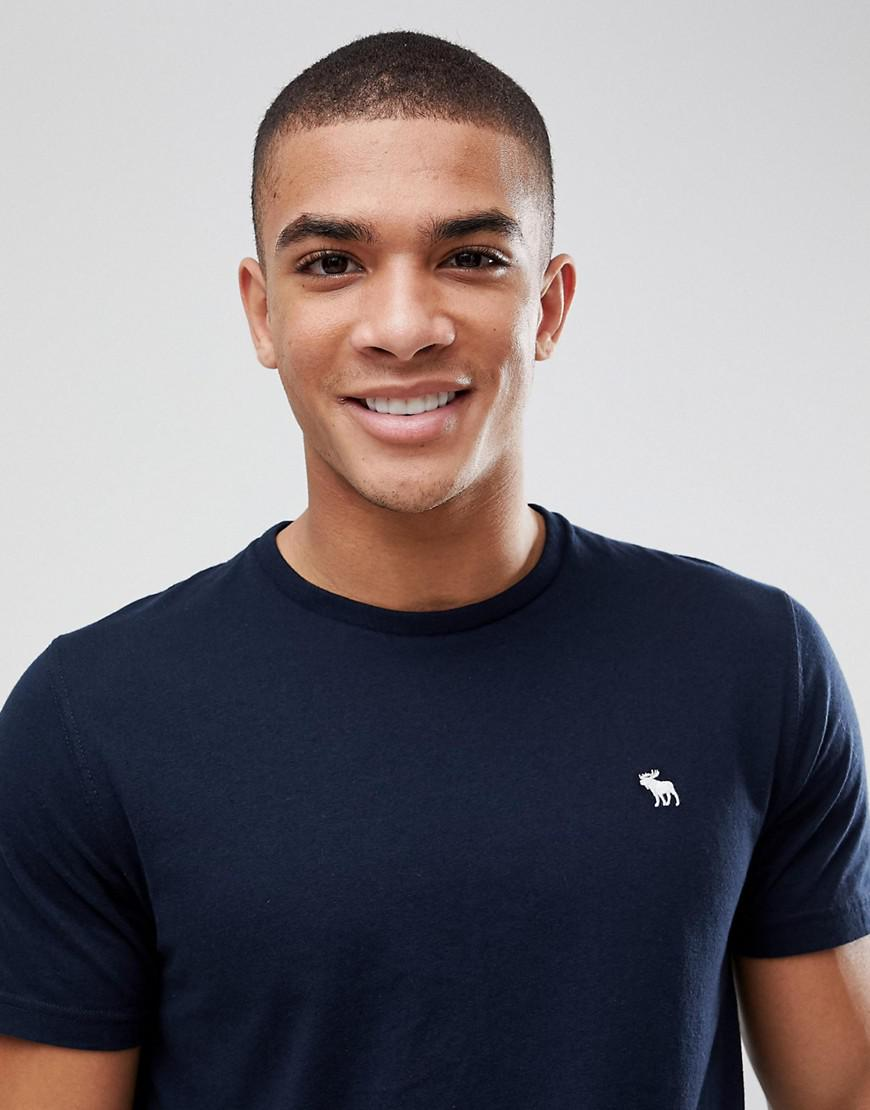 8e73a114 Abercrombie & Fitch 3pack T-shirt Crewneck Muscle Slim Fit In Navy ...