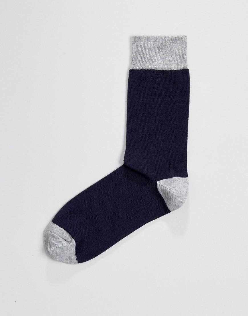 a82baee4caa Lyst - French Connection 5 Pack Socks in Black for Men