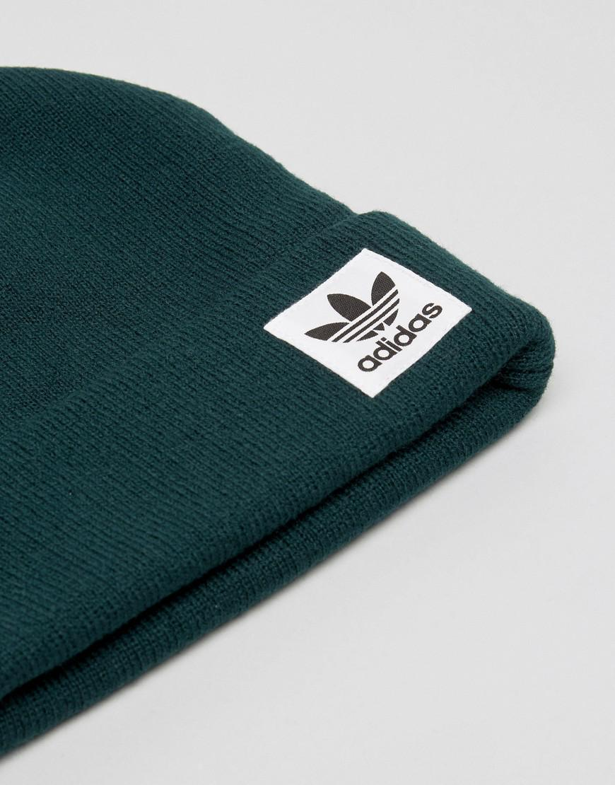 adidas Originals High Beanie In Green Br2760 in Green for Men - Lyst dc5b8b0d477