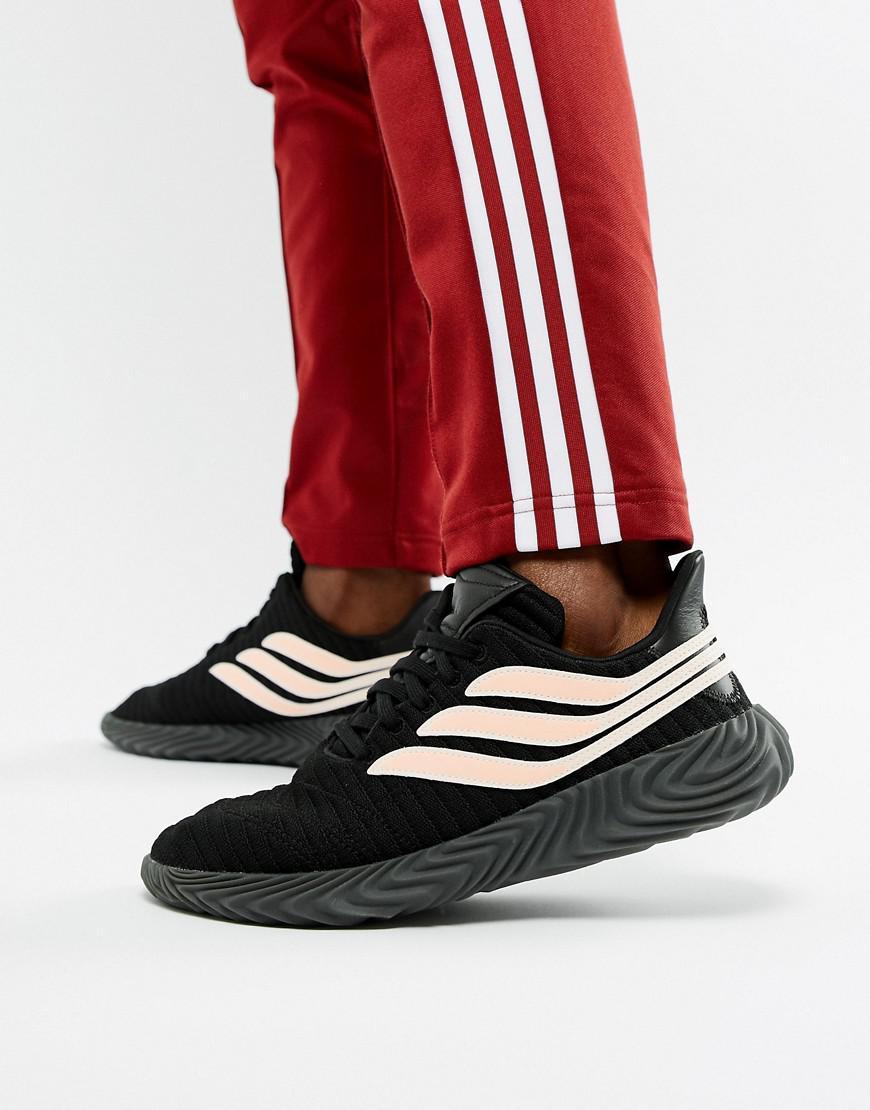 pretty nice 610d3 73f14 adidas Originals. Mens Sobakov Trainers In Black Bb7674