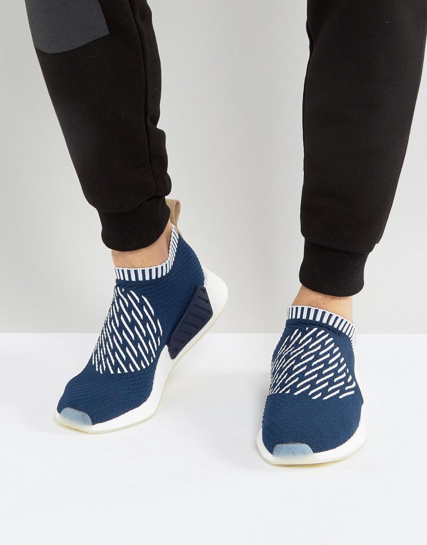 ec025509e Lyst - Adidas Originals Nmd cs2 Pk Sneakers In Navy Ba7189 in Blue ...