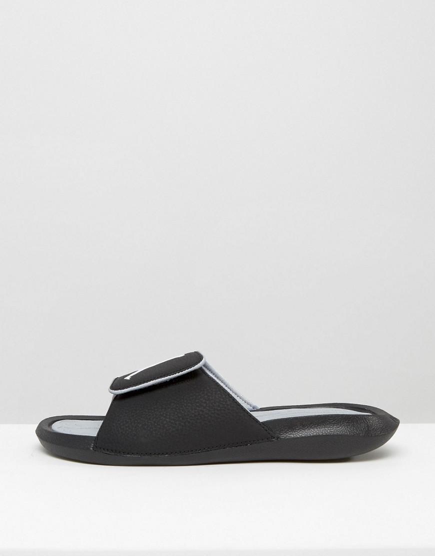 c8bea790232d Nike Nike Air Hydro 6 Slider Flip Flops In Black 881473-011 in Black ...
