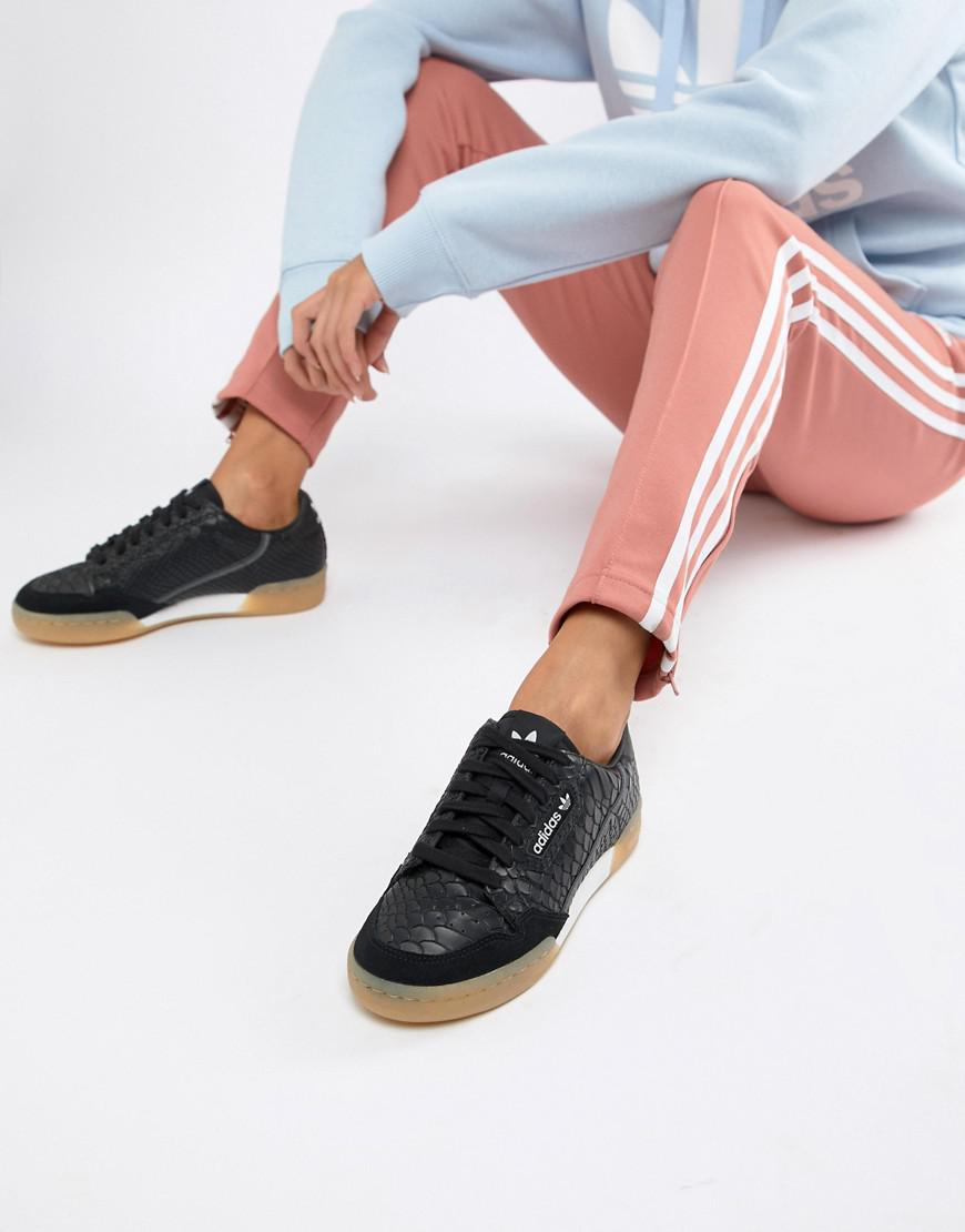 ForOffice | adidas originals continental 80's trainers in ...