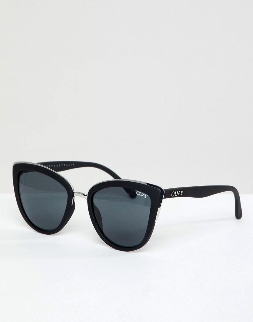 6e20a67fa19 Quay - My Girl Cat Eye Sunglasses In Black for Men - Lyst. View fullscreen