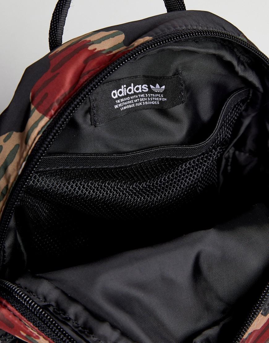 af07887c553c Lyst - adidas Originals X Pharrell Williams Hu Camo Mini Backpack