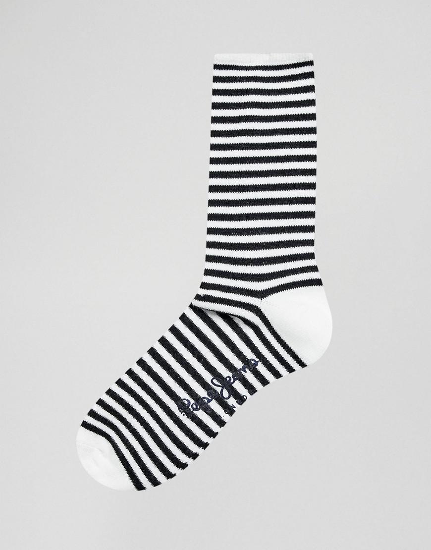 2a08068eca Lyst - Pepe Jeans 3 Pack Socks In Stripe And Spot