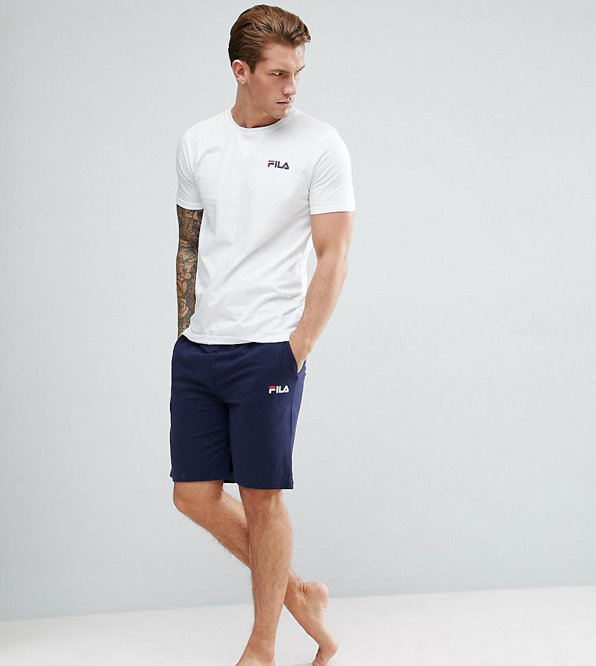 876f56aa594c Fila Vintage Lounge Shorts In Navy in Blue for Men - Lyst