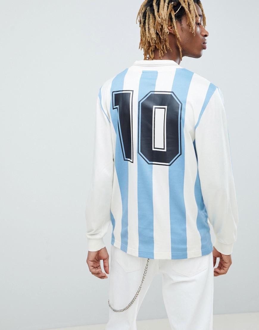 fbc50a06ab1 Lyst - adidas Originals Retro Argentina Soccer Jersey In Blue Ce2341 ...