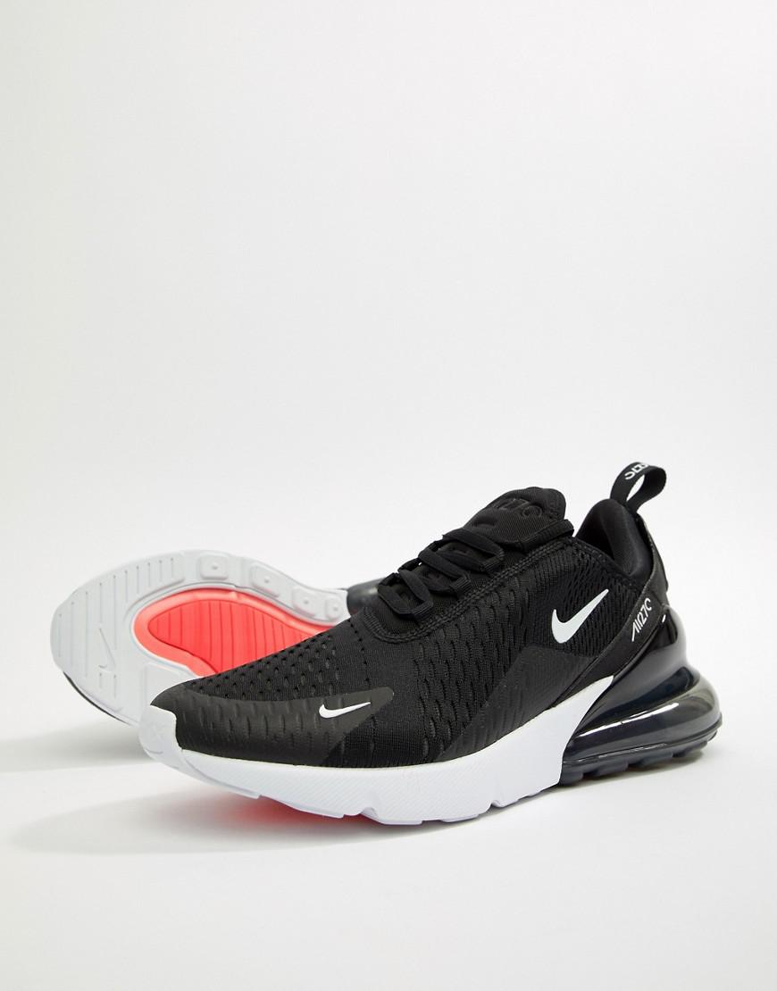 Nike Air Max 270 Trainers In Black Ah8050-002 in Black for Men - Lyst 86ab4004eaa4
