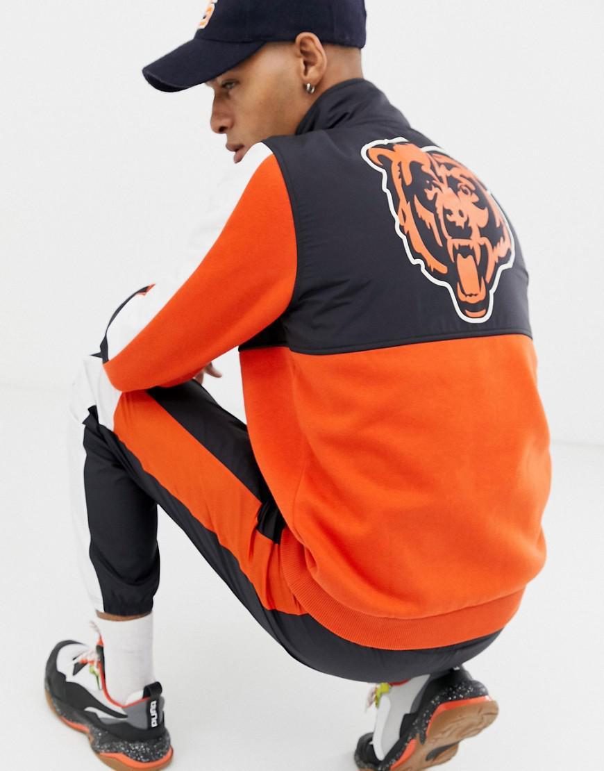 a70423fb82e8f KTZ Nfl Chicago Bears 1 4 Zip Sweatshirt Exclusive To Asos in Orange for  Men - Lyst