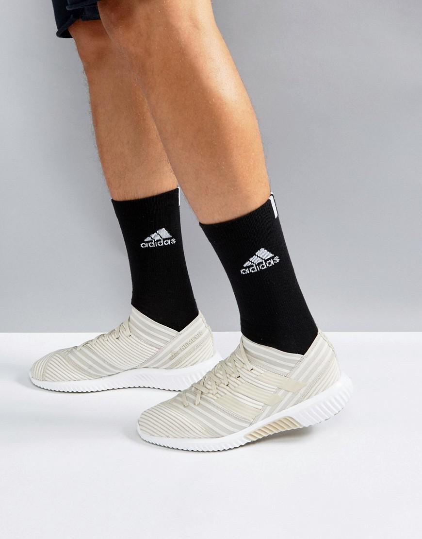 a1849f55722c Lyst - adidas Soccer Nemeziz Tango 17.1 Boost Sneakers In Beige ...