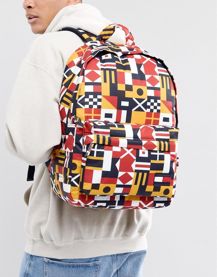 7f7bb2fca2 Tommy Hilfiger Nylon Semaphore Flag Backpack In Multi for Men - Lyst