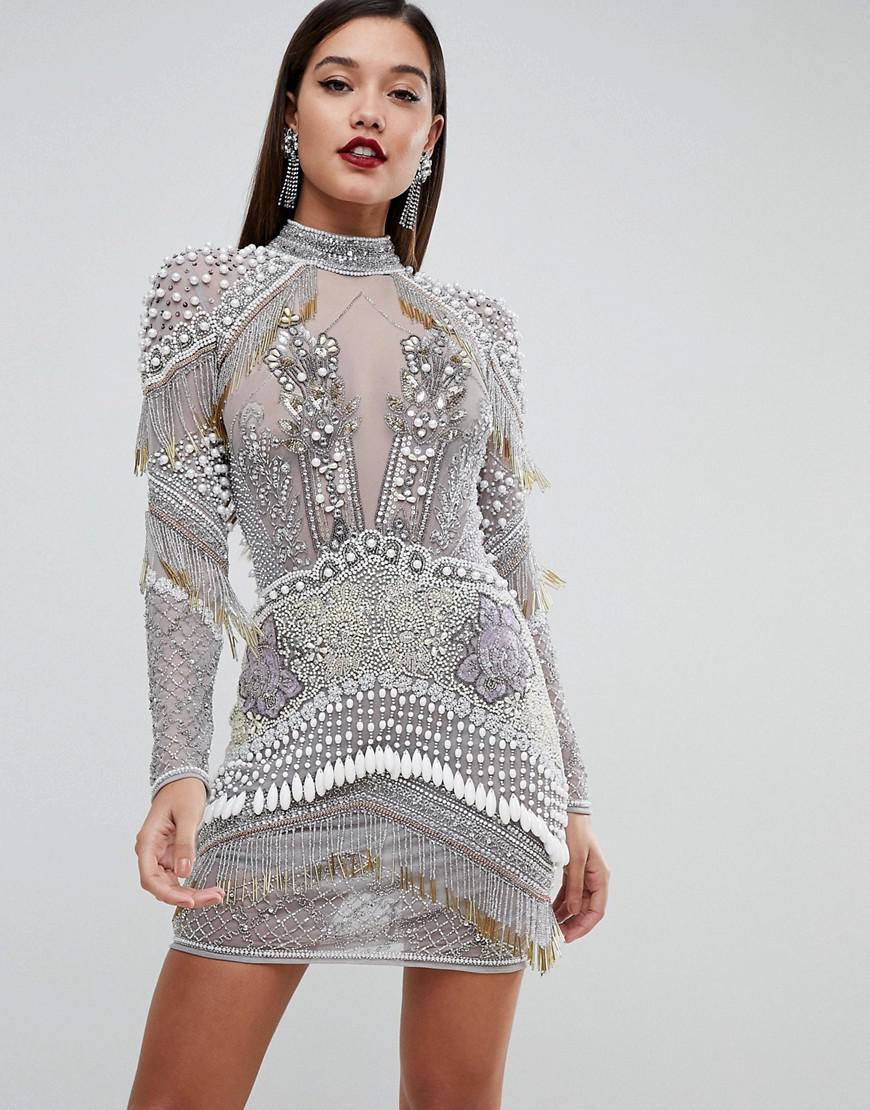 c417ee72848 Silver Evening Dress Asos – DACC