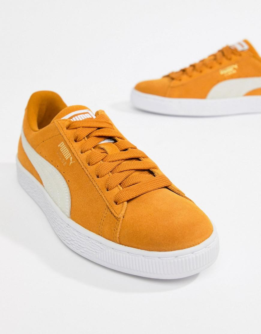 5f2e3454fa27 Lyst - PUMA Suede Classic Mustard Yellow Sneakers in Yellow