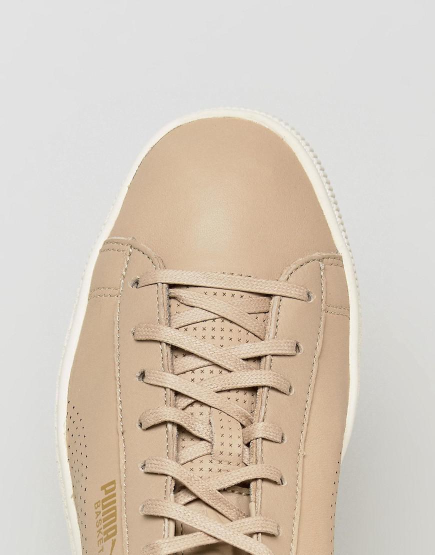 on sale 699e5 3973b puma-Beige-Select-Basket-Classic-Soft-Sneakers-In-Beige-36382405.jpeg