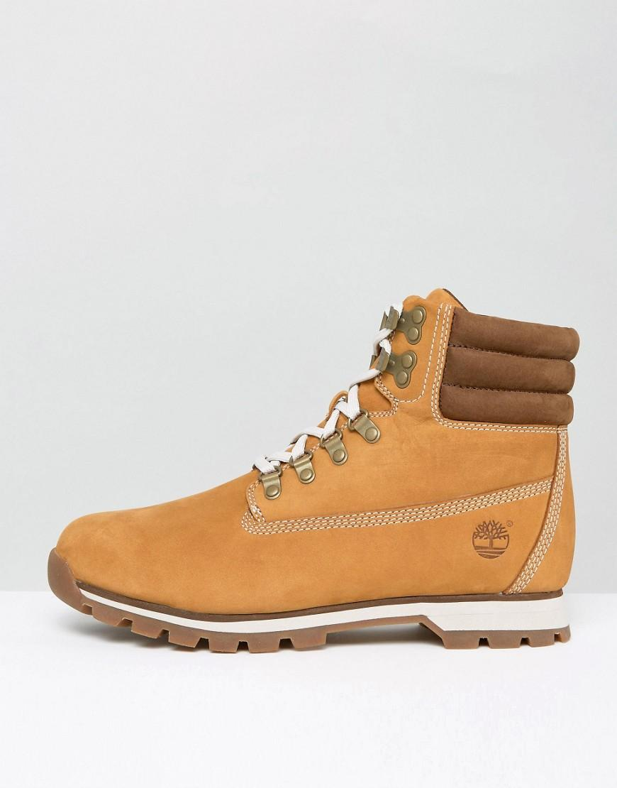 Hiker Shoes Leather Tan