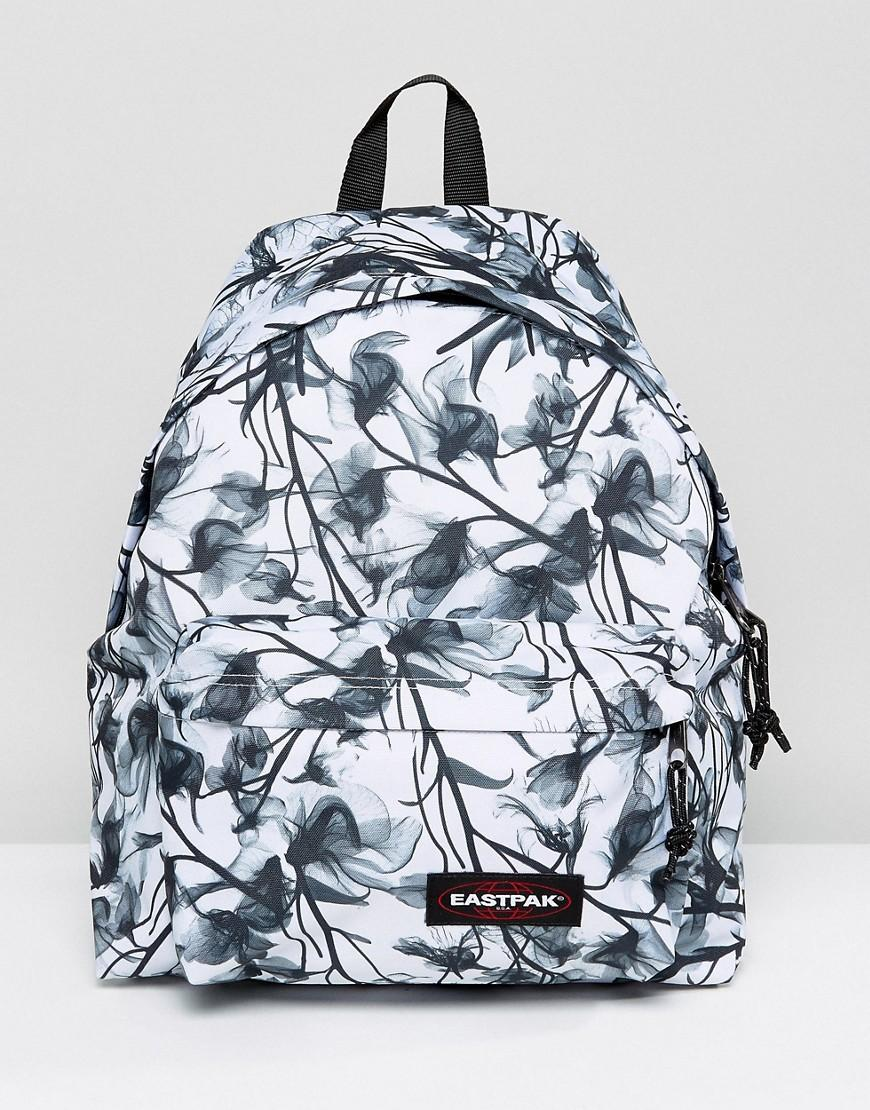 eastpak padded pak r backpack in mono floral in blue lyst. Black Bedroom Furniture Sets. Home Design Ideas