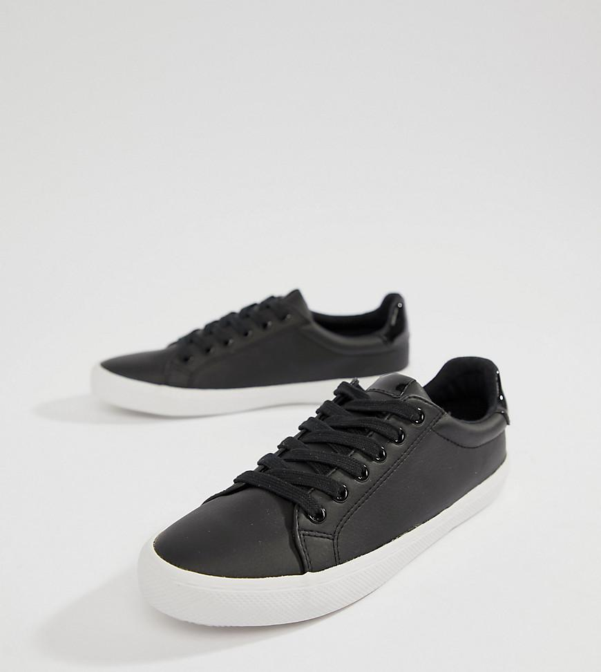 896d93673615 Lyst - ASOS Dustin Lace Up Sneakers in Black