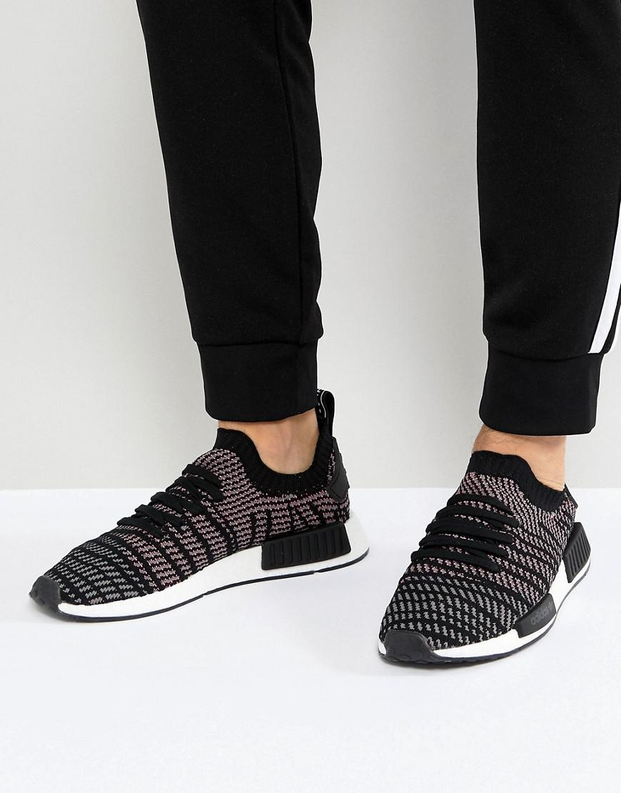 Lyst Adidas Originals Nmd R1 Stlt Sneakers In Black Cq2386 In