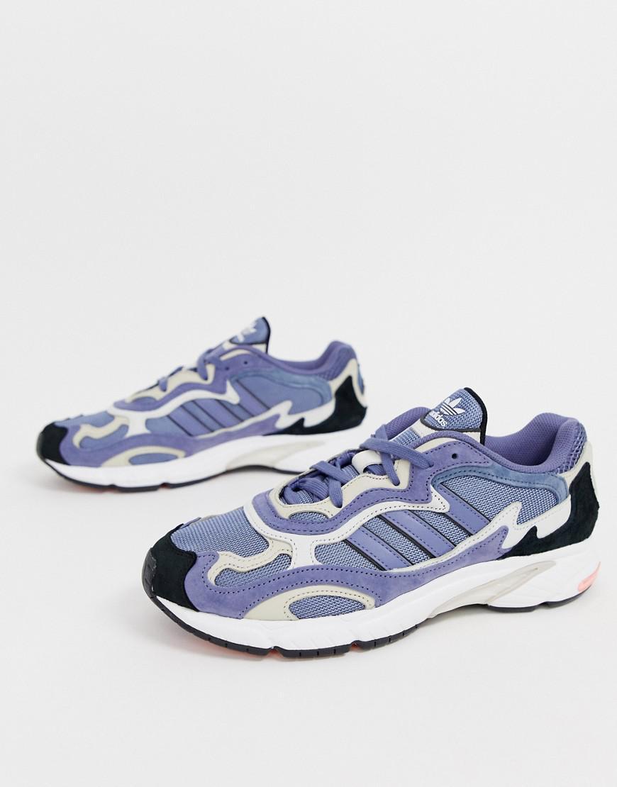 Lyst - adidas Originals Temper Run Trainers G27919 Blue in Blue for Men 95779d5e44a5b
