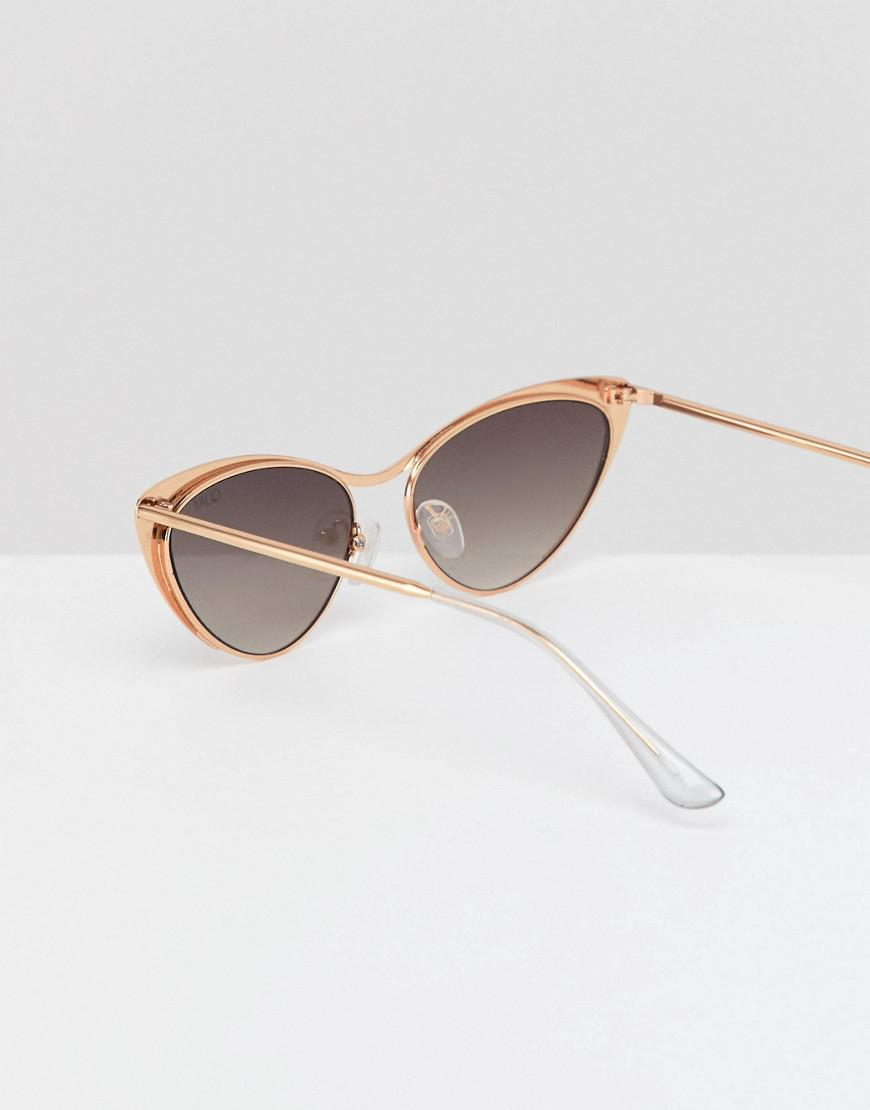 153dc79b4471c Quay Boss Cat Eye Sunglasses In Gold in Metallic for Men - Lyst