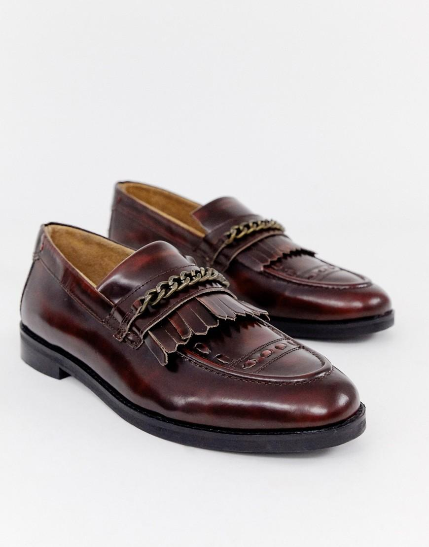 For In Of Red House Men Hounds Loafers Burgundy Archer Tassel lT3FJcKu1