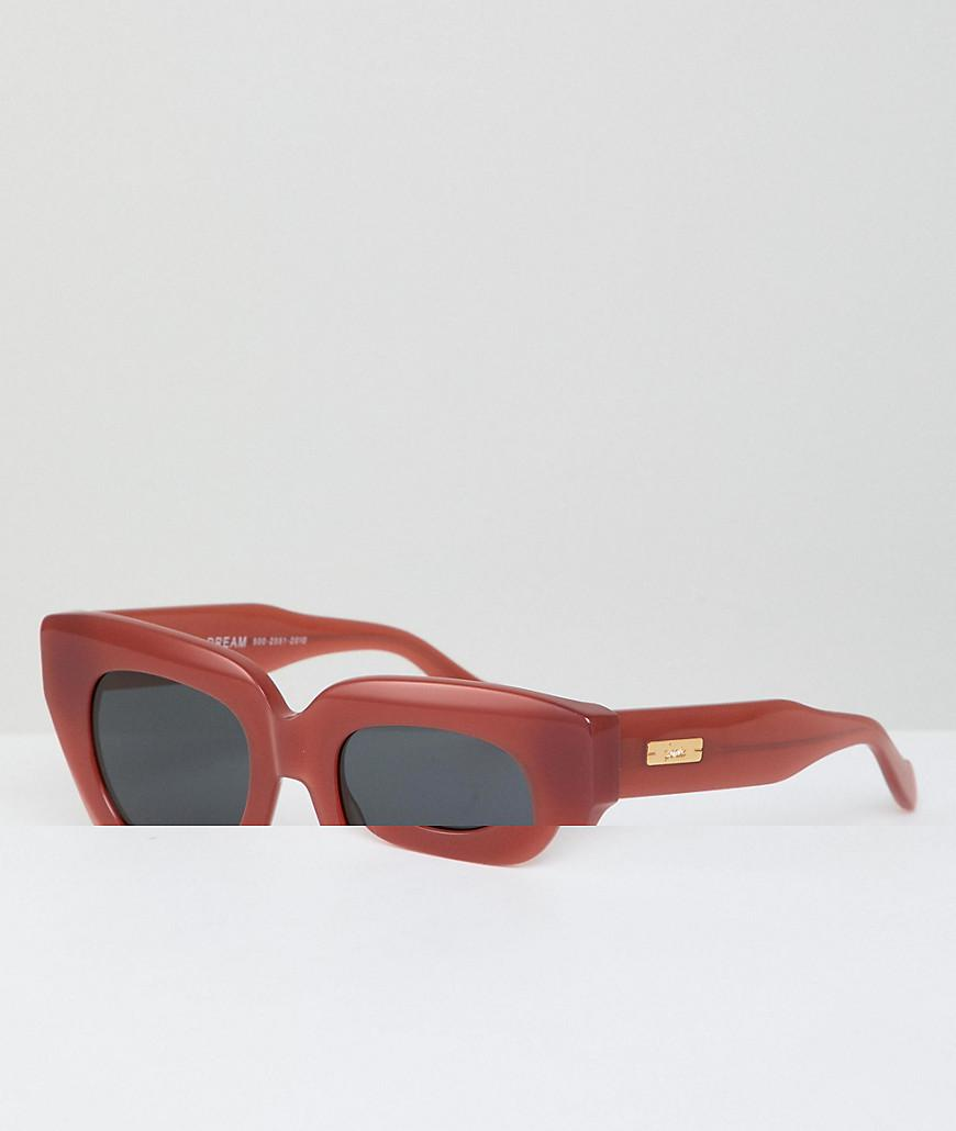 096809ed632 Lyst - Sonix Tokyo Dream Retro Sunglasses In Red in Metallic for Men