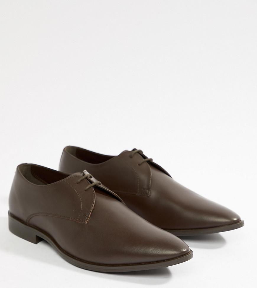 Frank Wright Wide Fit Derby Shoes In Patent Leather tbCT4cloaH