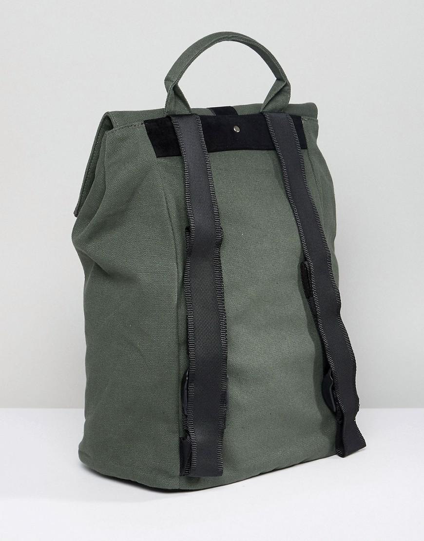 Lyst - Mi-Pac Canvas Day-pack In Khaki in Green for Men 7594cb37cdc1c