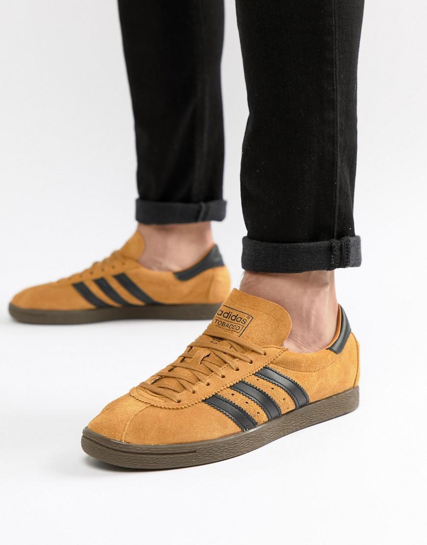 cfdd96f6ee1b12 Lyst - adidas Originals Tobacco Sneakers In Yellow Cq2761 in Yellow ...