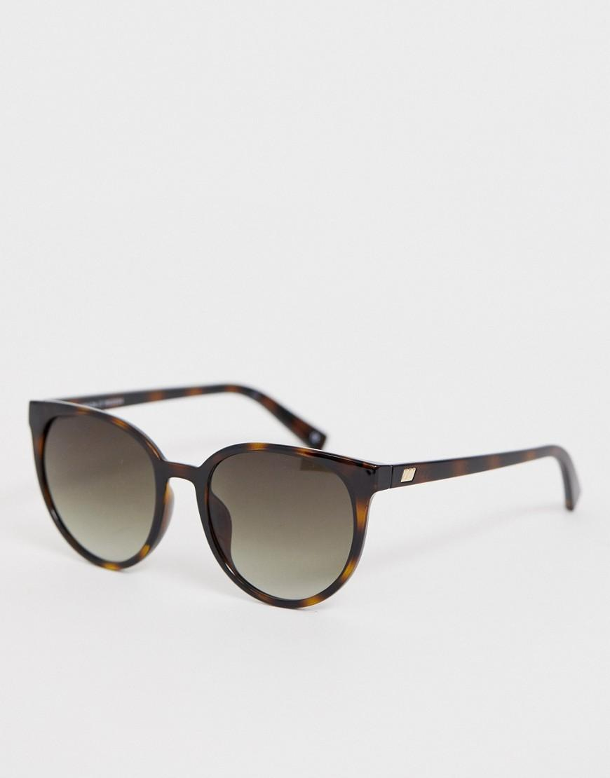 f77590edc0 Le Specs Armada Round Sunglasses In Tort in Brown for Men - Lyst