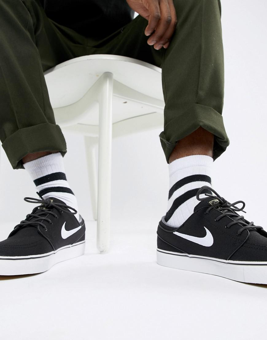 8e8d136e694e Nike Zoom Stefan Janoski Skateboarding Sneakers In Black 615957-028 ...