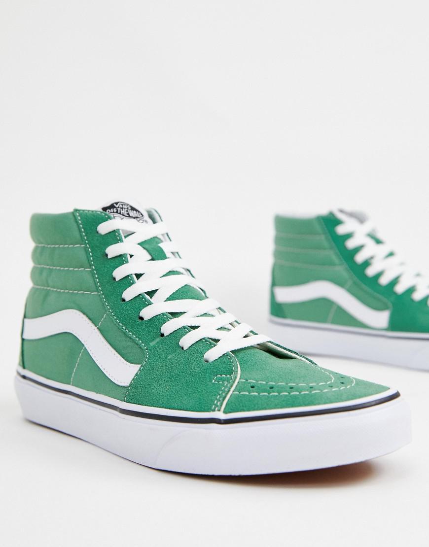 44647fc70563f7 Vans Sk8-hi Sneakers In Green Vn0a38geukv1 in Green for Men - Lyst