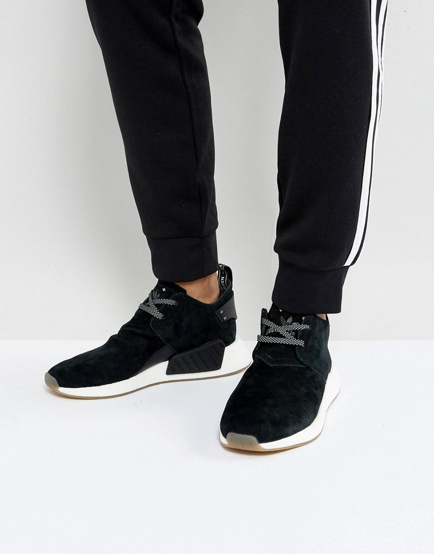 9b91a514b52ad adidas Originals Nmd C2 Sneakers In Black By3011 in Black for Men - Lyst