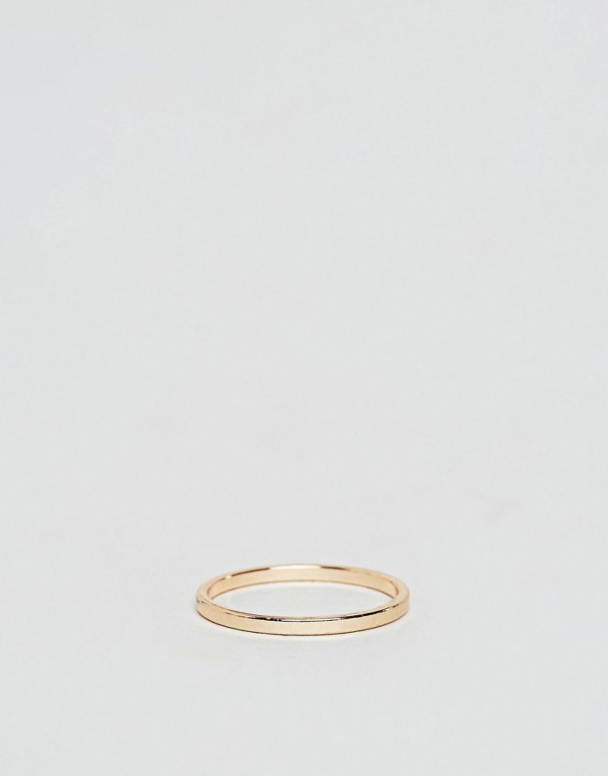 Lyst - Aldo Leonick Multipack Simple Rings in Metallic