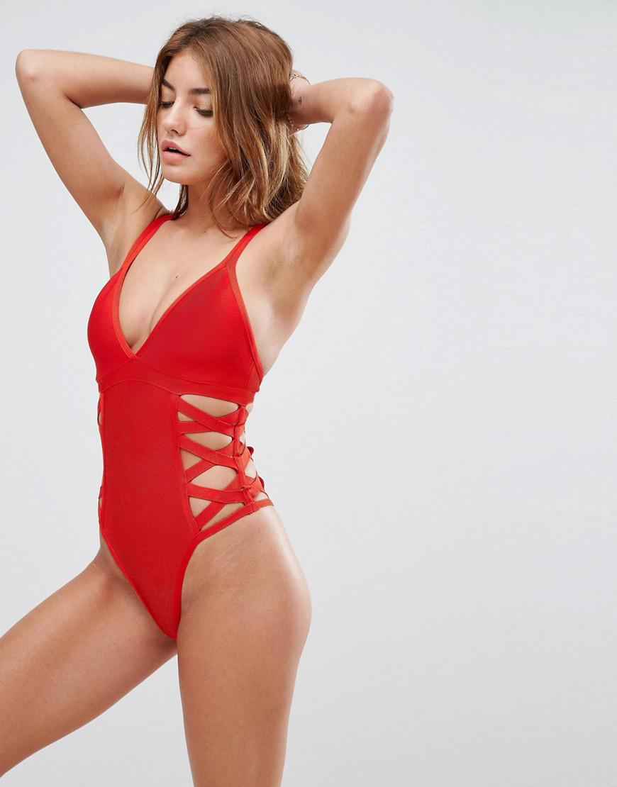dce6ad43f387f Gallery. Women s Brown Bikinis Women s White One Piece Swimsuits ...