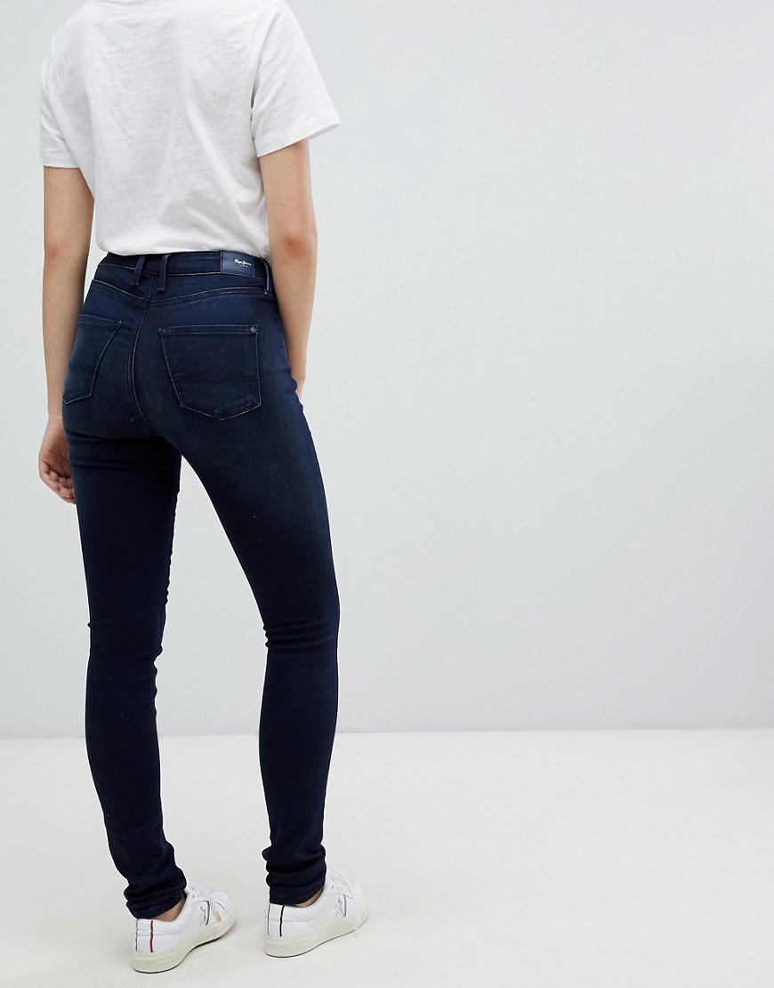 Regent Skinny In Lyst Pepe Jeans Black wiPXZOkuT